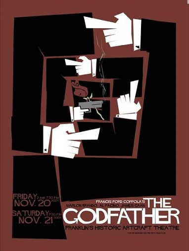 alternative movie posters godfather