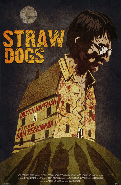 alternative movie posters straw dogs