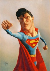 Caricatura Superman